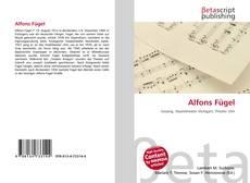 Capa do livro de Alfons Fügel