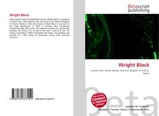 Bookcover of Wright Block