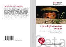Bookcover of Psychological Warfare Division