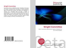Bookcover of Wright Committee