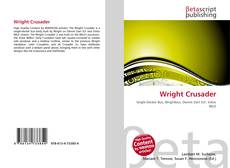 Bookcover of Wright Crusader