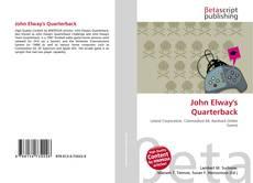 John Elway's Quarterback kitap kapağı
