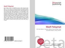 Couverture de Wasfi Tolaymat