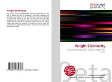 Bookcover of Wright Electrocity