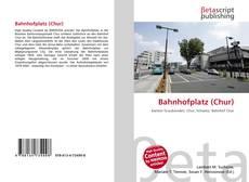 Bahnhofplatz (Chur)的封面