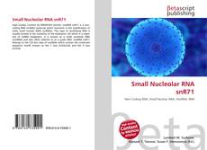Couverture de Small Nucleolar RNA snR71