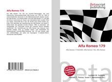 Capa do livro de Alfa Romeo 179