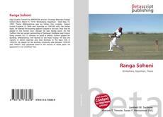 Bookcover of Ranga Sohoni