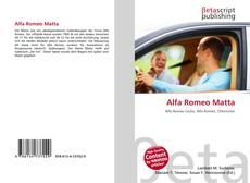 Portada del libro de Alfa Romeo Matta