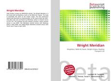 Bookcover of Wright Meridian