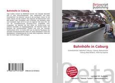 Buchcover von Bahnhöfe in Coburg