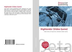 Bookcover of Highlander (Video Game)