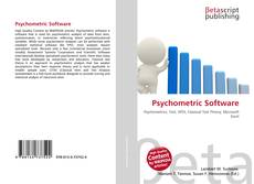 Psychometric Software kitap kapağı