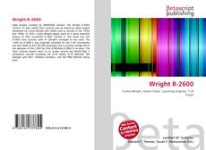 Bookcover of Wright R-2600