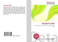 Capa do livro de Wright R-3350