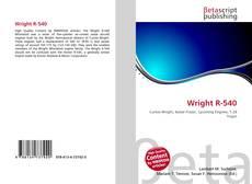 Capa do livro de Wright R-540