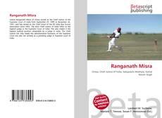 Bookcover of Ranganath Misra