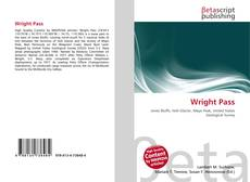 Bookcover of Wright Pass