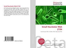 Couverture de Small Nucleolar RNA Z194