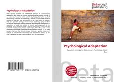 Bookcover of Psychological Adaptation