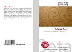 Couverture de Alfons Auer