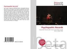 Psychopathic Records kitap kapağı