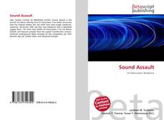 Portada del libro de Sound Assault