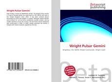 Capa do livro de Wright Pulsar Gemini