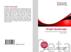 Bookcover of Wright Quadrangle
