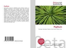 Buchcover von Psyllium