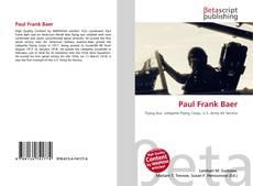 Обложка Paul Frank Baer