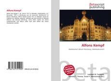 Bookcover of Alfons Kempf