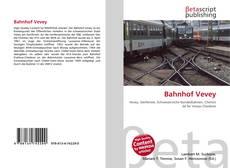Bookcover of Bahnhof Vevey