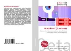 Buchcover von Washburn (Surname)