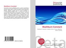 Bookcover of Washburn Constant