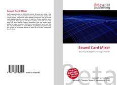 Bookcover of Sound Card Mixer