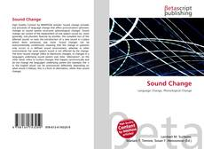 Bookcover of Sound Change