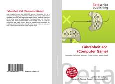 Bookcover of Fahrenheit 451 (Computer Game)