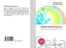 Bookcover of Alfeld (Mittelfranken)
