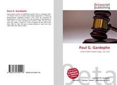 Copertina di Paul G. Gardephe