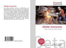 Bookcover of Alfelder Eisenwerke