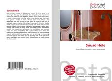 Bookcover of Sound Hole