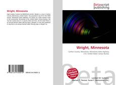Bookcover of Wright, Minnesota