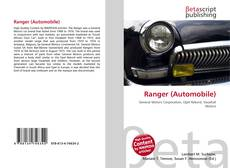 Bookcover of Ranger (Automobile)