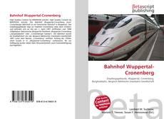 Обложка Bahnhof Wuppertal-Cronenberg