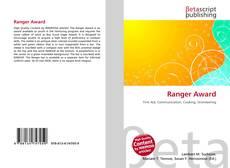 Bookcover of Ranger Award