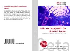 Capa do livro de Taiko no Tatsujin Wii: Do Don to 2 Daime