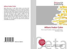 Bookcover of Alfons Fedor Cohn