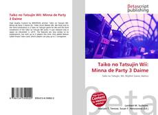 Capa do livro de Taiko no Tatsujin Wii: Minna de Party 3 Daime