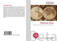 Bookcover of Ptolemaic Army